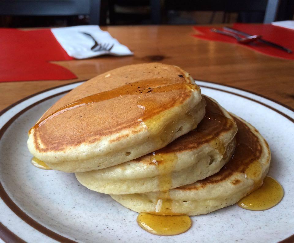Eggnog Pancakes Recipe from Polly's Pancake Parlor