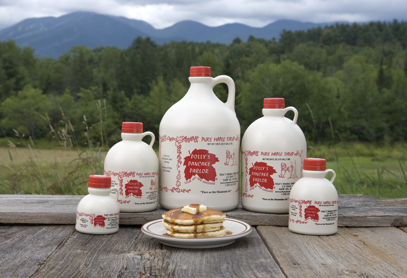 Each jug of New Hampshire Maple Syrup – Medium Amber is packaged exclusively for us and comes in pints, quarts, 1/2 gallons and 1 gallon containers.