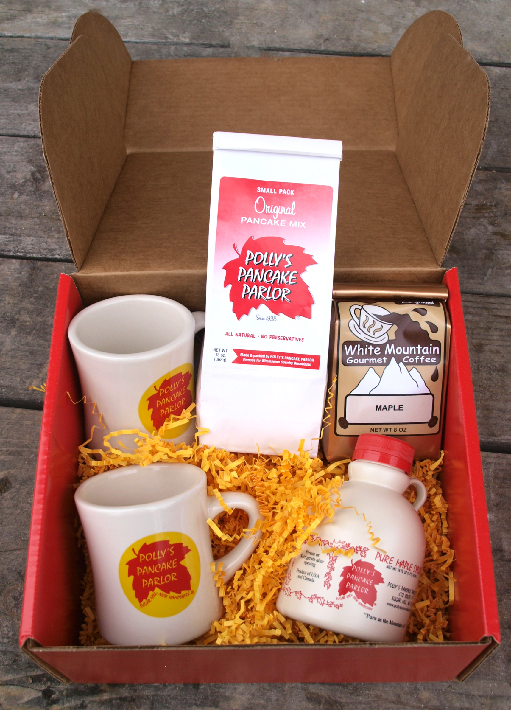 Polly S Pancake Parlor Polly S Breakfast Gift Combination